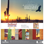 """Southwest Adventure - Paper House Paper Crafting Kit 12""""X12"""""""