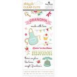 Grandma - Paper House Sticky Pix Clear Cuts Stickers 5/Pkg