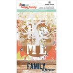 Acetate, Cardstock & Die-Cut Cardstock - One Big Happy Family Mixed Card Pack 18/Pkg