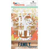 Acetate, Cardstock & Die-Cut Cardstock - One Big Happy Family Mixed Card Pack 18/Pkg