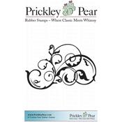 "Vine Flourish, Large - Prickley Pear Cling Stamps 2""X3.5"""