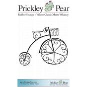 "Victorian Trike - Prickley Pear Cling Stamps 2.75""X2.25"""