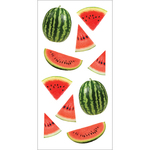 "Watermelons - Paper House Sticky Pix Stickers 2""X8"""