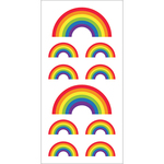 "Rainbows - Paper House Sticky Pix Stickers 2""X8"""
