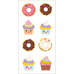 "Sweet Treats - Paper House Sticky Pix Stickers 2""X8"""