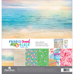 """Paradise Found Beach - Paper House Paper Crafting Kit 12""""X12"""""""