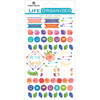 """Live Bold - Paper House Life Organized Planner Stickers 4.5""""X7.5"""" 4/Pkg"""