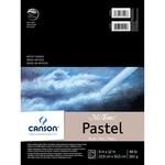 "Black - Canson Mi-Teintes Pastels Paper Pad 9""X12"""