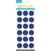 Anchors - Paper House Sticky Pix 3D Sticker Seals 18/Pkg