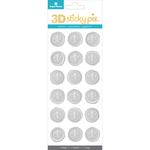 Fleur De Lis - Paper House Sticky Pix 3D Sticker Seals 18/Pkg