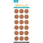 Crowns - Paper House Sticky Pix 3D Sticker Seals 18/Pkg