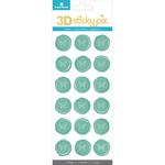 Butterflies - Paper House Sticky Pix 3D Sticker Seals 18/Pkg