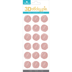 Feathers - Paper House Sticky Pix 3D Sticker Seals 18/Pkg