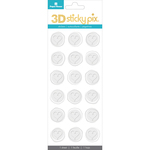 Hearts - Paper House Sticky Pix 3D Sticker Seals 18/Pkg