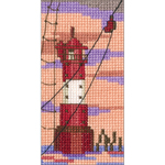 """2.25""""X4.25"""" 14 Count - Lighthouse V Counted Cross Stitch Kit"""