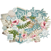 Island Escape Collectables Cardstock Die-Cuts