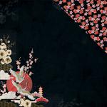 "Tsuki - Hanami Garden Double-Sided Cardstock 12""X12"""