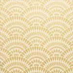 """Fan Pattern - Hanami Garden Foiled Cardstock 12""""X12"""""""