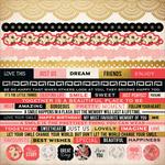 """Hanami Garden Cardstock Stickers 12""""X12"""""""