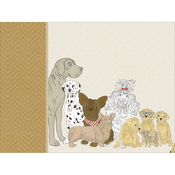 "Dog - Kaisercraft Pawfect D-Ring Album 12""X12"""