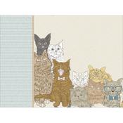 """Cat - Kaisercraft Pawfect D-Ring Album 12""""X12"""""""