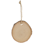 """Basswood Country Round Ornament - 2.5"""""""
