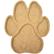 Beyond The Page MDF Paw Print Frame