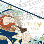 "High Seas - KaiserColour Perfect Bound Coloring Book 9.75""X9.75"""