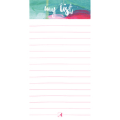 "Artist; Lined - Kaiser Style Magnetic To Do List Pad 4""X8"" 60 Sheets"