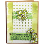 Celtic St. Patrick's Day - Sizzix Clear Stamps By Katelyn Lizardi