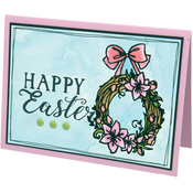 Happy Easter - Sizzix Clear Stamps By Katelyn Lizardi