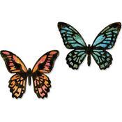 Mini Detailed Butterflies Thinlits Dies By Tim Holtz - Sizzix