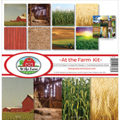 """At The Farm - Reminisce Collection Kit 12""""X12"""""""