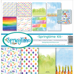 "Springtime - Reminisce Collection Kit 12""X12"""