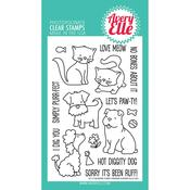 "More Furry Friends - Avery Elle Clear Stamp Set 4""X6"""