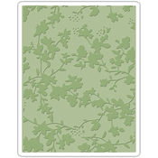 Floral By Tim Holtz - Sizzix Texture Fades A2 Embossing Folder