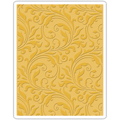 Flourish - Sizzix Texture Fades A2 Embossing Folder