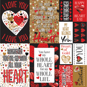 "#Graffitiheart Stickers 12""X12"""
