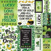"Shamrock Shake Stickers 12""X12"""
