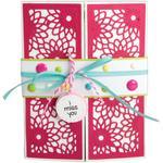 Half Card Panels - Sizzix Thinlits Dies By Stephanie Barnard 3/Pkg