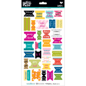 Colorful - Illustrated Faith Basics Bible Book Tabs Stickers