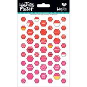Apple Of My Eye - Illustrated Faith Basics Mini Hexies Epoxy Stickers