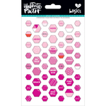 Bless Her Heart - Illustrated Faith Basics Mini Hexies Epoxy Stickers