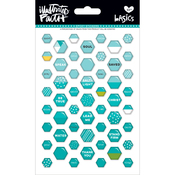 Oh My Heavens - Illustrated Faith Basics Mini Hexies Epoxy Stickers