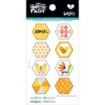 Bananas For You - Illustrated Faith Basics Hexies Epoxy Stickers