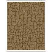 Croc - Sizzix Texture Fades A2 Embossing Folder