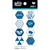 Mrs. Blueberry - Illustrated Faith Basics Hexies Epoxy Stickers