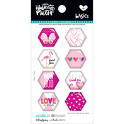 That's My Jam - Illustrated Faith Basics Hexies Epoxy Stickers