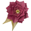 Large 3D Flower - Sizzix Thinlits Dies 9/Pkg By David Tutera