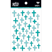 Oh My Heavens - Illustrated Faith Basics Puffy Cross Stickers